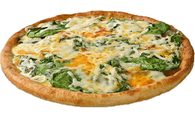 Spinach Special Pizza