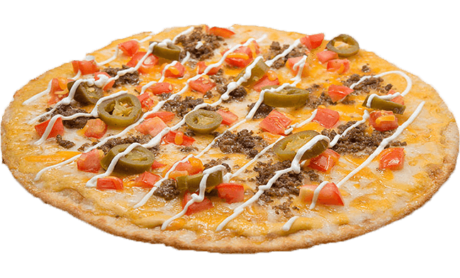 Thin Nacho Pizza